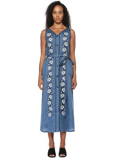 Sleeping Gypsy Elbise Mavi